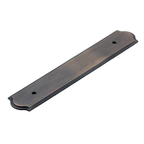 (Richelieu Hardware - BP104096BORB - Transitional Metal Backplate for Pull -1040 - 3 25/32 in (96 mm) - Oil-Rubbed Bronze  Finish)