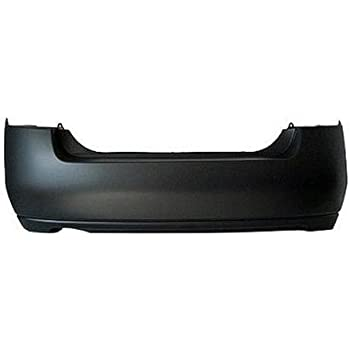 Bumper Cover For 2005-2007 Nissan Pathfinder Rear Primed With Step Pad Provision