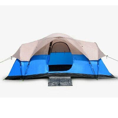 RT 6-Person of Blue Outdoor Camping Barton Tent: Garden & Outdoor