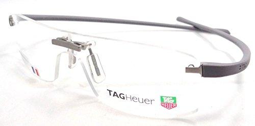 Tag Heuer Panorama Rx Eyeglasses Frames Th 3503 005 61x00 Light Grey ...