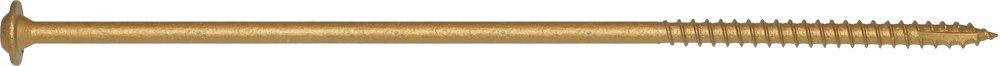 Screw Products, Inc. CCTX-381000 3/8 Bronze Star Exterior Construction Lag Screws
