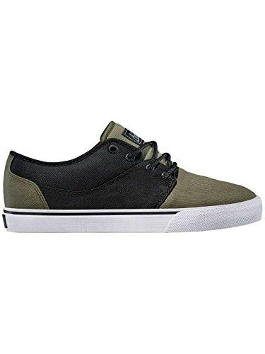 Globe Uomo OLIVE Sneakers BLACK da Mahalo qSqrH7