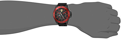 Ferrari Men 0830310 XX KERS Analog Display Japanese Quartz Black Watch
