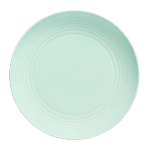 Gordon Ramsay by Royal Doulton Maze Blue Dinner Plate, 11-Inch