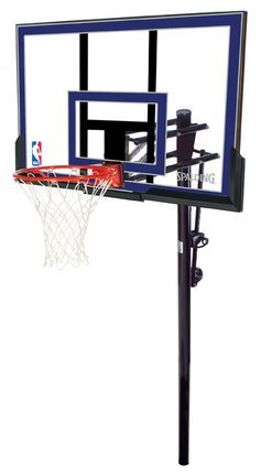 Spalding NBA In-Ground Basketball System - 50'' Acrylic Backboard by Spalding
