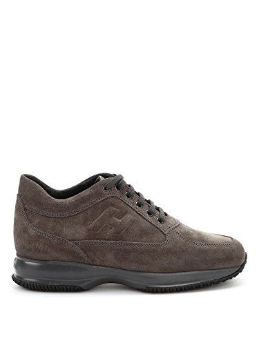 Hogan Men's HXM00N09042HG0B611 Brown Suede Sneakers with paypal cheap price sale footlocker pictures real cheap online NrmvdPuQw6