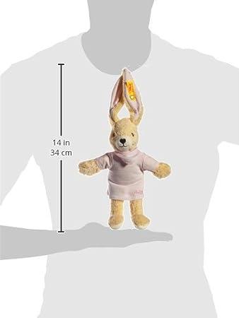 STEIFF 237577 HOPPEL HASE 20 cm ROSA SPIELZEUG BABY KUSCHELTIER NEU