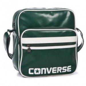 a5183ab5f1ef Converse Breakaway Tourney Airliner Bag Green Messenger Flight Bag ...