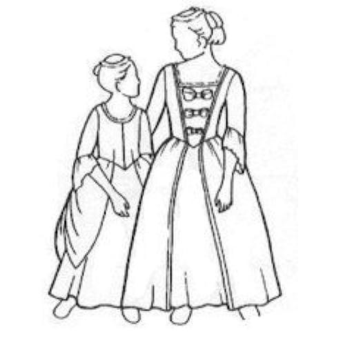 18th Century Dress: Amazon.com