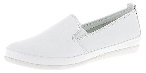 Andrea Conti Damen Slipper 1561505 Weiß