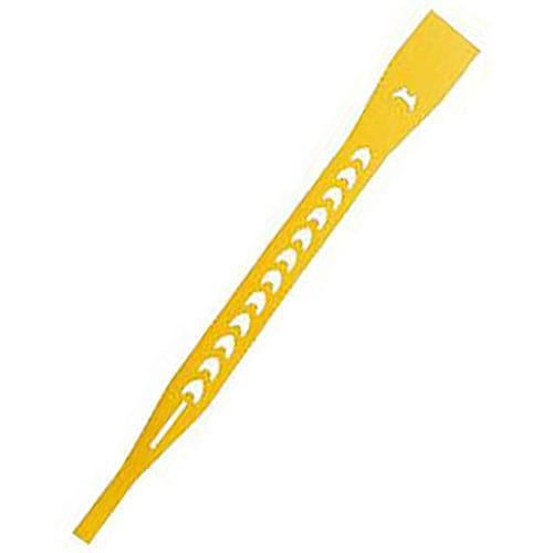 Aro Tool (A.M. Leonard Hi-Density Poly Aro-Ties - 0.3 x 4.5 Inches, 1000/Roll, 10 Count, Yellow)