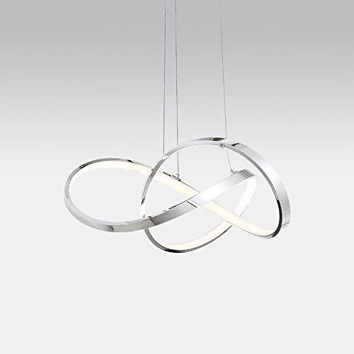 WAC Lighting PD-87720-CH Vornado 20in LED Chandelier