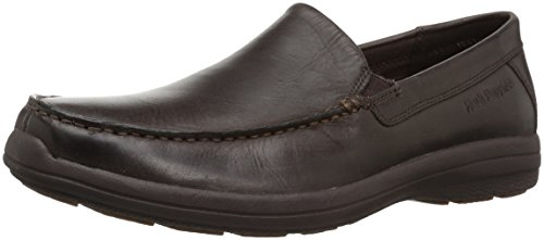 Hush Puppies Heren Brevis Patterson Slip-on Loafer Donkerbruin