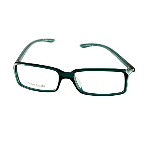 Yves Saint Laurent Eyeglasses YSL 2101 8H5 Dark Green 52-15-130 Made in Italy