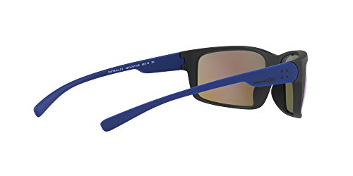 Hombre 2 de Green para Black 0 Negro Light Blue Mirror Fastball Gafas Arnette Matte Sol IATw5q0Ix