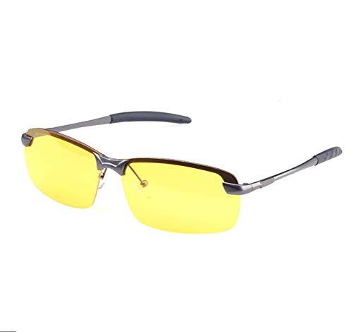 HD Night Vision Glasses Driving Aviator Sunglasses New UV400 Eyewear best for Men Women Driving Protection