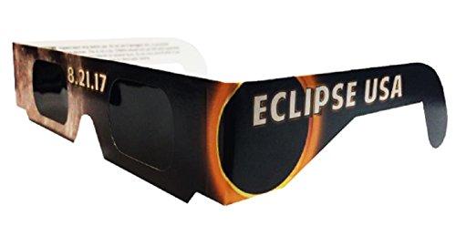 [해외]Eclipser Safe Solar Eclipse 안경, CE 인증, '달이 들다'프레임 - 5 팩/The Eclipser Safe Solar Eclipse Glasses CE Certified, `Get Mooned` Frame - 5 Pack