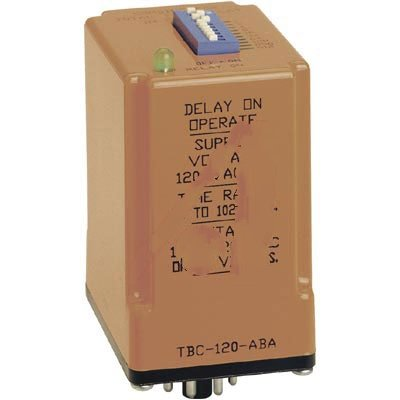 ATC TBC-120-ABA Time Delay Relay Interval on Operate Relay Output, 120 VAC/DC, 1.0 to 1023 seconds in 1.0 seconds Increments by Atc