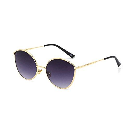 Sol B Metal de Personalidad Gafas A GUO Sol Moda de de Las Gafas qwtaFxZg