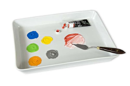 Creative Mark Porcelain Palette Treasure Classic Butcher's Tray 11.8x15.75x2""