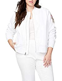 RACHEL Rachel Roy Women's Plus Size Embroidered Bomber Jacket