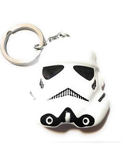 STAR WARS Large size storm trooper helmet Figurine/metal replica Key chain collectible cosplay force Stormtrooper - Replica Storm Trooper