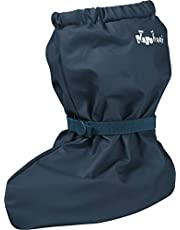 Playshoes Unisex Kids' Waterproof Footies with Fleece Lining Rain Booties