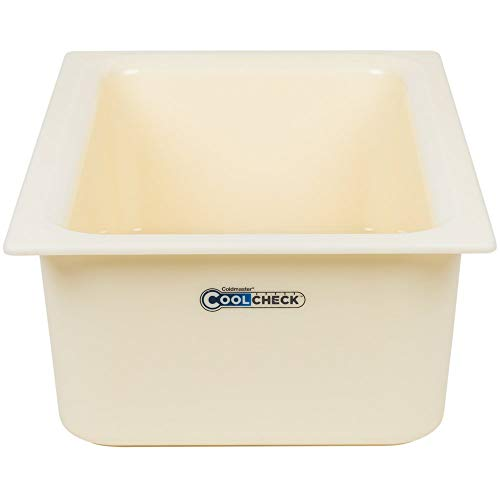 TableTop King CM1100C1402 Coldmaster CoolCheck Full Size White Cold Food Pan - 6
