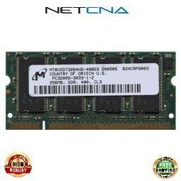 Ddr400 Sodimm 200 Pin - FUJITSU-AIW 256MB Fujitsu DDR400 PC3200 DDR 200-pin SODIMM 100% Compatible memory by NETCNA USA