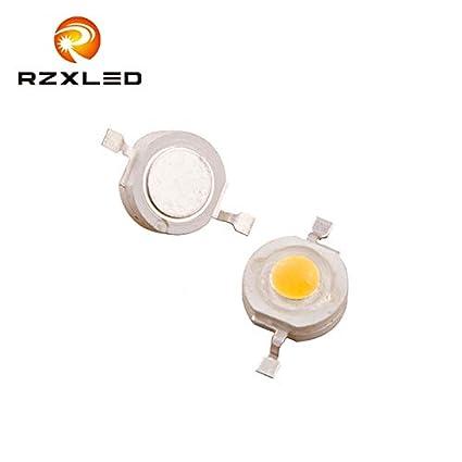 Amazon.com: Jammas 50PCS/Lot 2W 3Volts Diodes Ultra Bright ...
