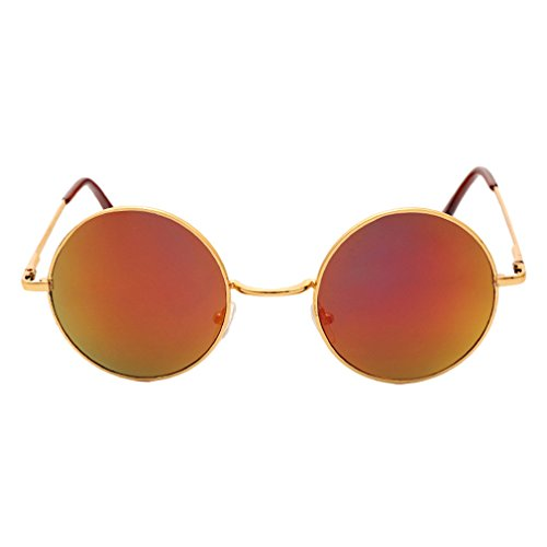 Cool Eyewear Para Gafas Brillantes C3 Tendencia Grandes Unisex UV Vacaciones Protección Príncipe Viajar Redondas Gafas 400 Conducir De De Sol Lindo xwYXaI1aq