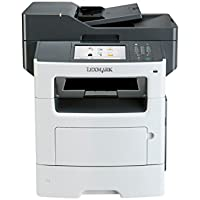 Lexmark QV8452 MX611de Fax / Copier / Printer / Scanner - Gray/White