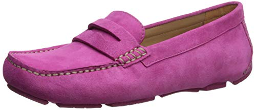Naturalizer Women's Natasha Shoe, Pink Suede, 6.5 M - Loafers Naturalizer Suede