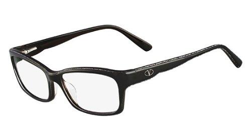 Valentino Glasses 6 Black V2600 006 Rectangle - Glasses Valentino Reading
