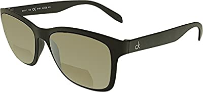 Calvin Klein Platinum CKR3171S-001-200 Black CKR3171S 2.00 Strength Bifocal Sunglasses