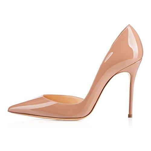 Bout Beige Chaussures Beige Soireelady Escarpins Classique Escarpins Mariage Femme Fermé Soiree Femme vPvIqxpa