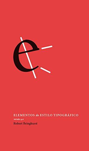 Elementos do Estilo Tipográfico - Versão 4.0