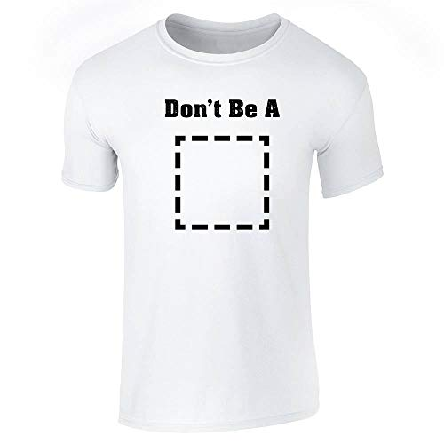 Pop Threads Don't Be A Square Funny Retro Cool Movie White S Short Sleeve T-Shirt