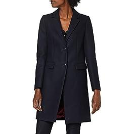 Tommy Hilfiger Women's Th Ess Wool Blend Classic Coat Jacket