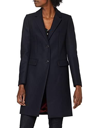 Tommy Hilfiger Dames Th ESS Wool Blend Classic Coat Jacket