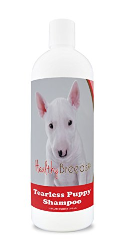 Healthy Breeds Tear Free Puppy Dog Shampoo for Bull Terrier - OVER 100 BREEDS - Nourishes & Moisturizes for Growth - Safe with Flea and Tick Topicals - 16 - Puppies Bull Terrier