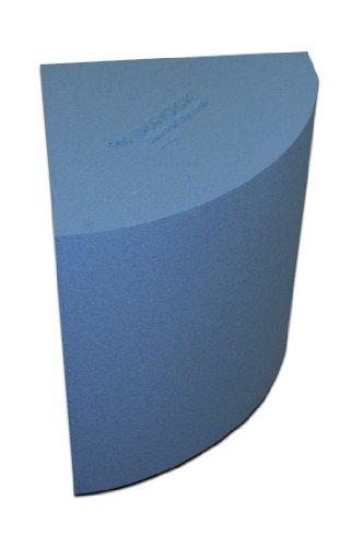 """USC Durock Shower System- 16"""" x 20"""" x 16"""" Shower Bench - Qtr Round"""