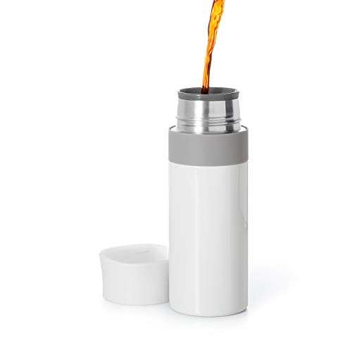 OXO Thermal Travel Mug Good Grips, 12 oz, White