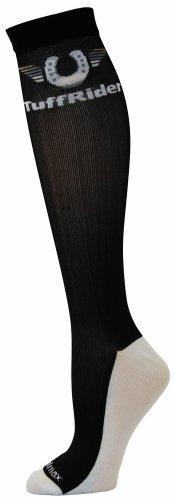 TuffRider Jpc Coolmax Boot Socks, Black, Standard