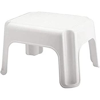 Amazon Com Rubbermaid Step Stool Small Stool White