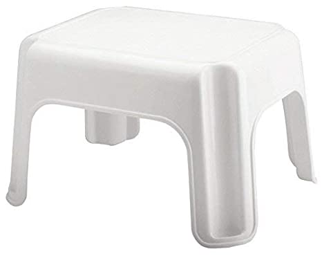 Surprising Rubbermaid Step Stool Small Stool White Small Fg420087Wht Gamerscity Chair Design For Home Gamerscityorg