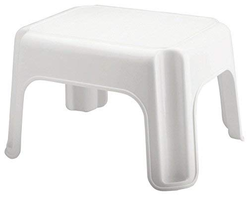(Rubbermaid Step Stool, Small Stool, White, Small (FG420087WHT))