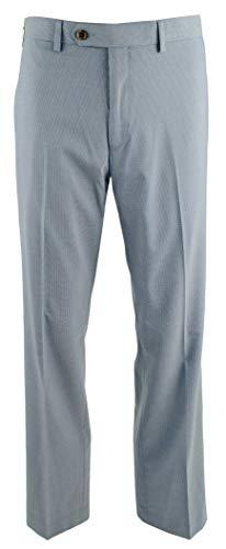 - Ralph Slim Fit Flat Front Dress Pants-B-36Wx30L Blue