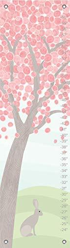 - Oopsy Daisy Growth Chart, Pastel Tree, 12