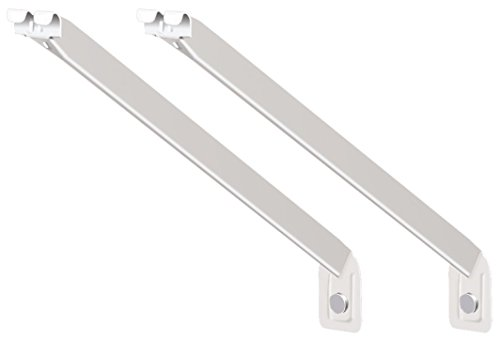 (ClosetMaid 56606 12-Inch Support Brackets for Wire Shelving, 2-Pack)